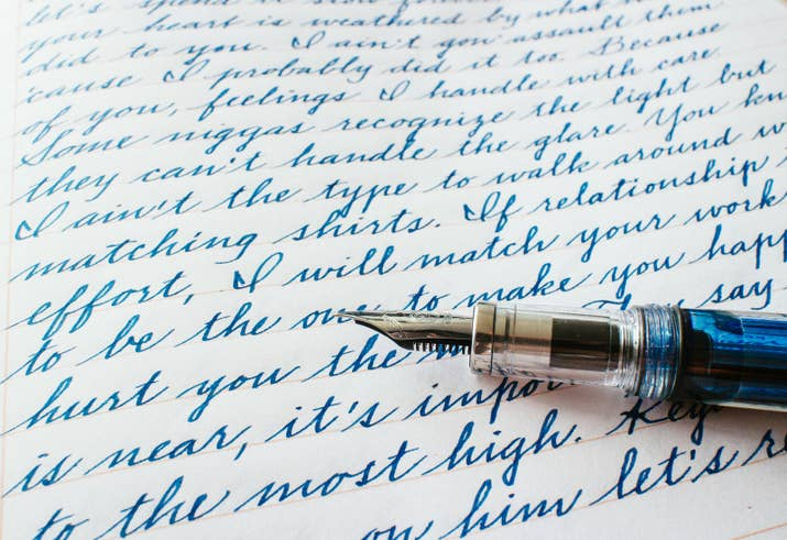 18 Pieces Of Handwriting So Satisfying Theyll Make Everything OK Again