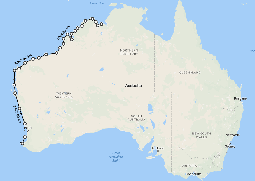 Heres What Trumps Wall Would Look Like If It Was Built In Australia