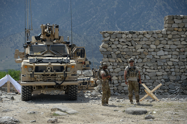 Two US Troops Died In The Ramped Up Fight Against ISIS In Afghanistan