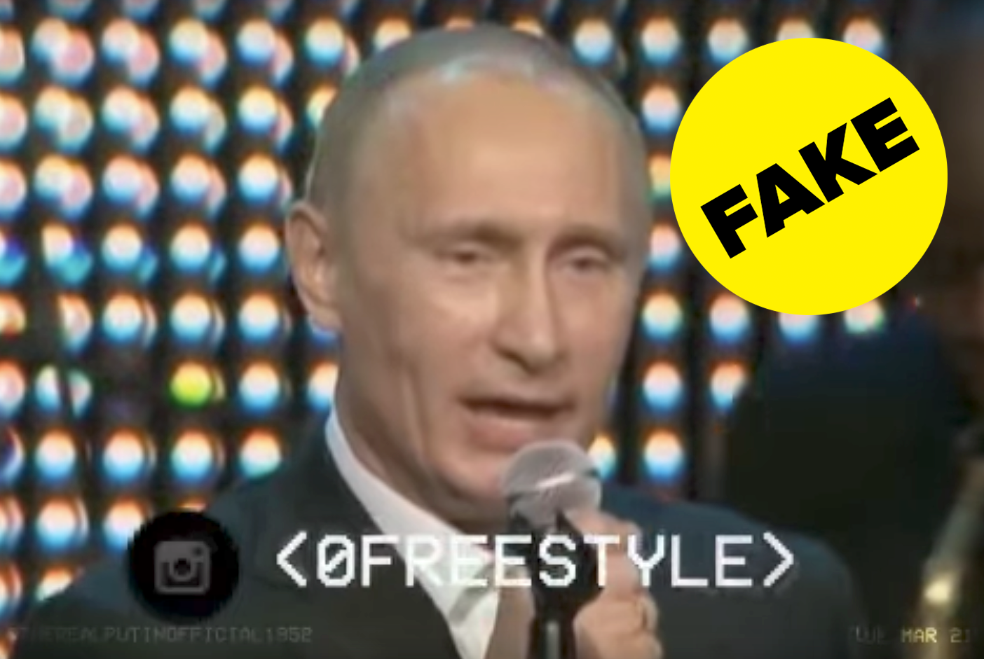 No This Video Of Putin Singing Creep Is Not Real