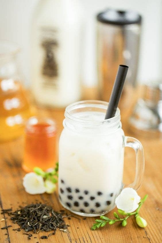 """This one isn't as weird as you think, because mother's milk tea is just made up of a fragrant combination of herbs that help boost her milk supply. Despite it's name, it has no milk in it at all—unless of course you decide to add cream to it.This tea is designed for consumption by lactating mothers. What you may not know is that it can also be enjoyed by non-lactating mothers who may just want to have a nice hot drink that happens to also be good for women's health.Here's an idea: You could put together a tea gift basket with a variety of mother's milk tea flavors like this Indian spiced variety, Shatavari Cardamom. Or you could make bubble milk tea, also called """"boba,"""" which is a popular iced drink from Asia that has tapioca pearls, and use mother's milk tea as the flavor! Just add some sweetness to it and voila, mother's milk bubble tea!Here is a recipe for regular homemade bubble tea, which you can add breast milk to!"""