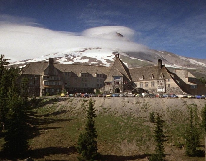 The Timberline Lodge as seen in The Shining.
