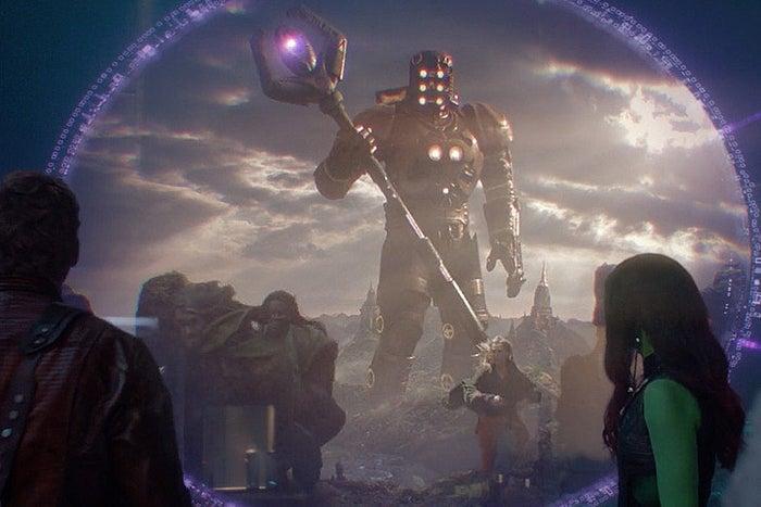 Una serie de seres ultra poderosos que existen desde la creación. Uno de ellos aparece brevemente en la primera película de Guardians, utilizando los poderes de una de las Gemas del Infnito. En la segunda película hablan mucho más sobre ellos y su rol en el universo.