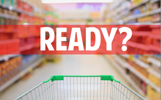 Hear that grumbling sound? It's your stomach telling you that the fridge is empty and it's time for grocery shopping!