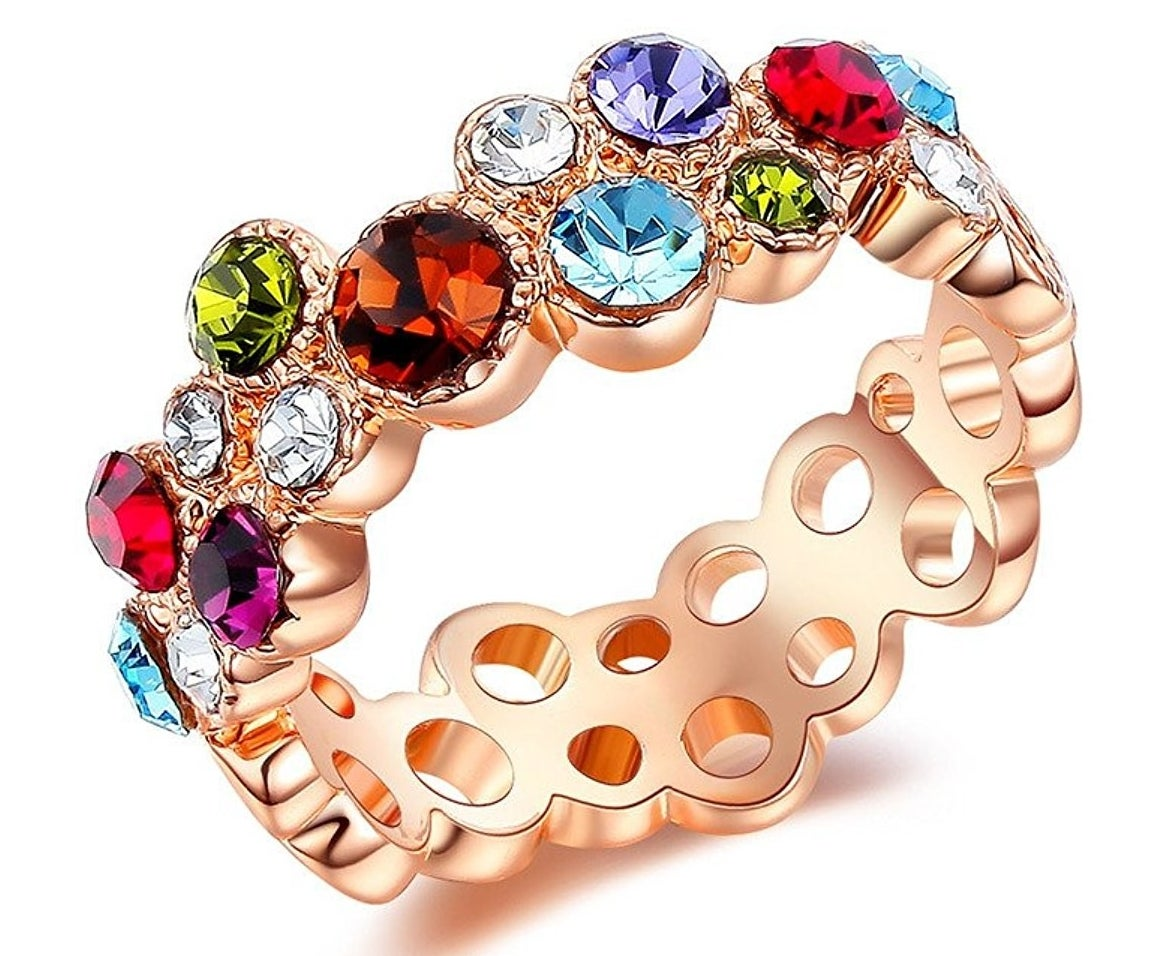 Get it from Amazon for $9.29. Ring sizes 6-9.Get a pastel version from Amazon for $7.99.