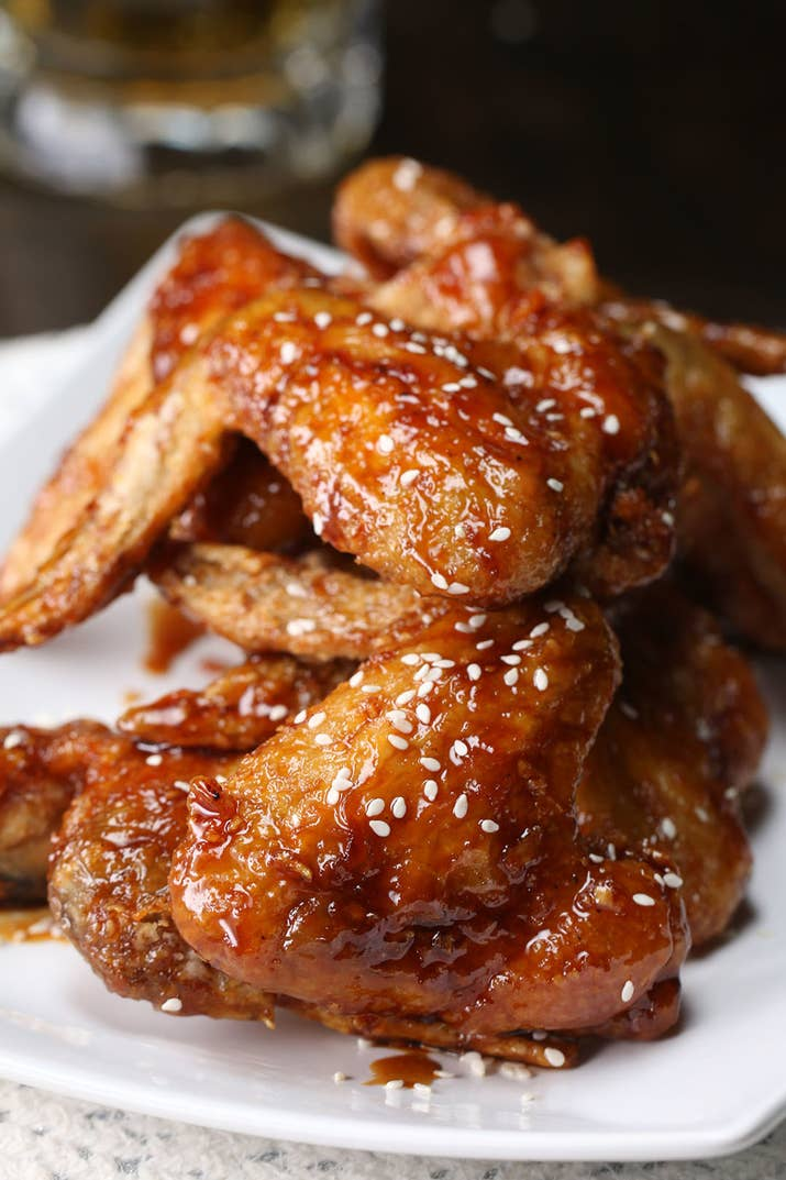 These sweet soy chicken wings will make you lick your fingers forumfinder Images
