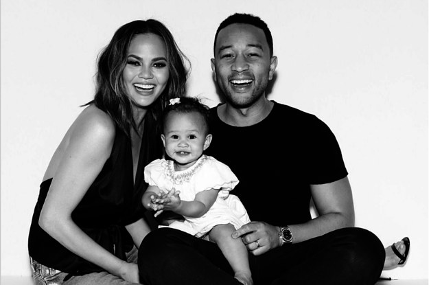 29 Times Chrissy Teigen, John Legend And Luna Were Family ...