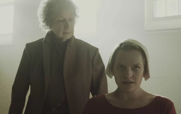 Margaret Atwood makes a cameo in the pilot episode.