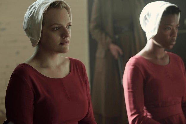 The red outfits that the Handmaids wear in the book and TV adaptation are a nod to Mary Magdalene, a repentant sinner in the Bible.