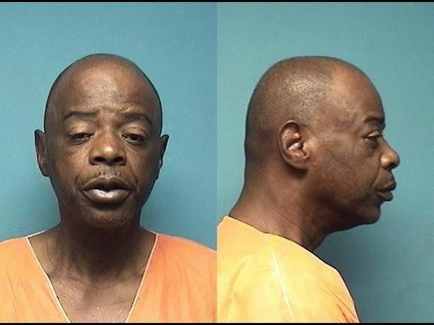 On Friday, police arrested 54-year-old Terry K. Rayford and charged him with being a felon in possession of a firearm.