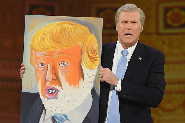 """Will Ferrell Showed Up As George W. Bush To """"Not The White House Correspondents Dinner"""""""