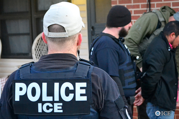 More Than Half Of Immigrants Arrested In ICE Raids Had No Criminal Record Or Traffic Convictions