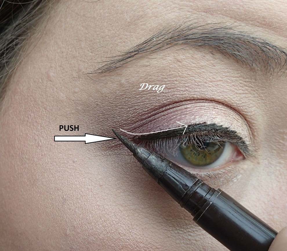 Easy cat eye tricks