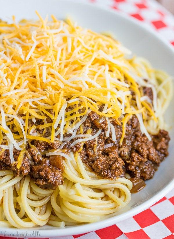 —jollyelizaA generous sprinkling of cheese is mandatory. Recipe here.