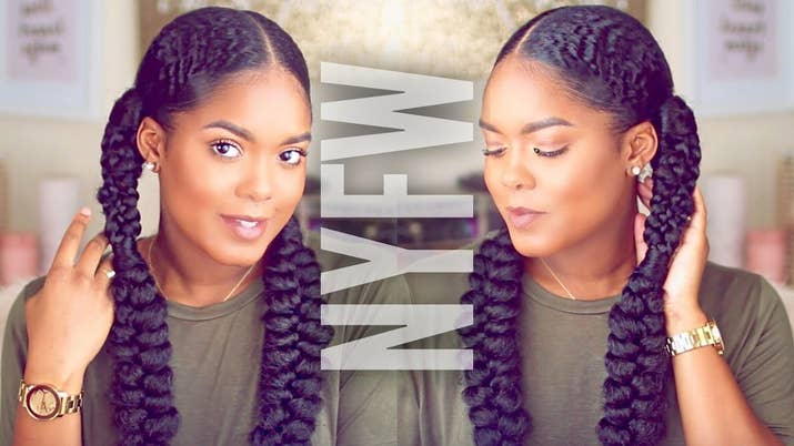 15 easy protective hairstyles that dont require a lot of skill or time minimarleyx27s x27do is a lot more intricate than solutioingenieria Images