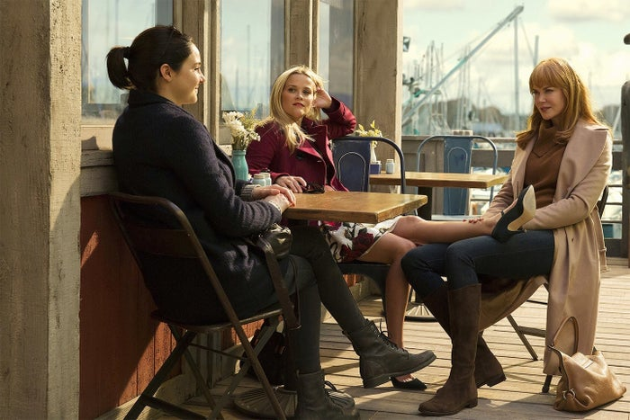I've never seen anything like Big Little Lies on TV before. But prior to its premiere, I had at least three conversations with TV journalists who were dismissive of it because it was about a group of rich women. I was shocked — are the tribulations of women's lives and motherhood fodder for a trove of TV shows hidden away from me somewhere? Because personally, I'm more tired by crime and conmen.Prestige television as it currently exists has largely skipped over stories about communities of women — Desperate Housewives and Sex and the City addressed women's problems and friendships early on in the new Golden Age of TV, and Orange Is the New Black and Jane the Virgin are still doing it. (Gilmore Girls, which was never considered Golden Age, is another exception.) But think of how rare it is to see a group of women in a scene talking about their lives. The stakes are so high on TV these days, almost no one talks about their lives! (The doctors on Grey's Anatomy do sometimes, but then they're inevitably interrupted by a surgical emergency.) Big Little Lies offered something different, as the final scene of the miniseries showed in almost comic relief. While the road to that frolicking-on-the-beach ending wasn't a feminist utopia — there was sniping and competitiveness and jealousy along the way — it is possible for women to come together to try for something better. Or not, actually — I would also gladly watch shows about women coming together to try for something worse! —Kate Aurthur