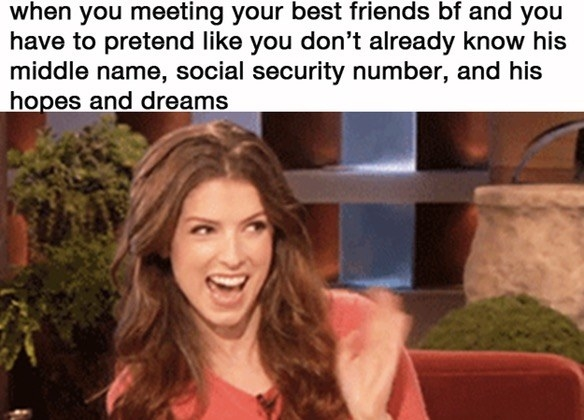Dating your best friend memes back