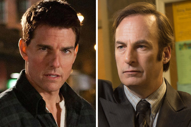 Tom Cruise and Bob Odenkirk: