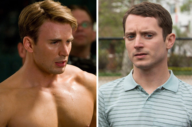 Chris Evans and Elijah Wood: