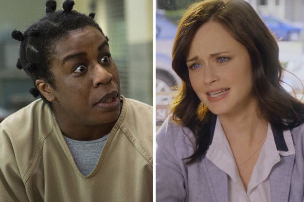 Uzo Aduba and Alexis Bledel: