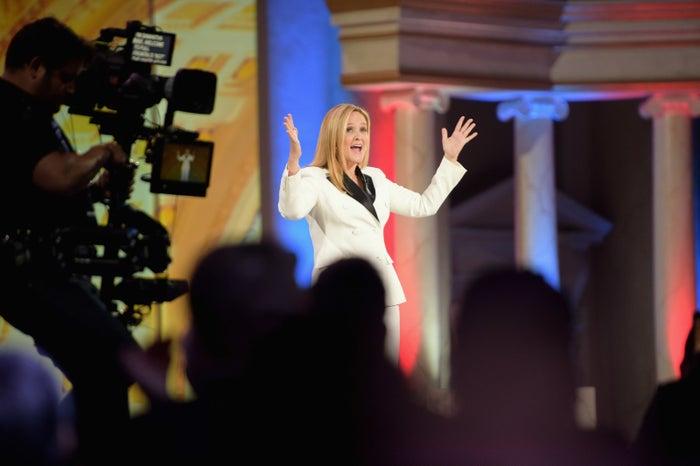 Samantha Bee hosting Not the White House Correspondents Dinner.