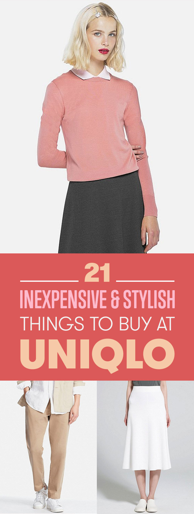 21 Under-100 Pieces to Buy at Uniqlo for Spring2017