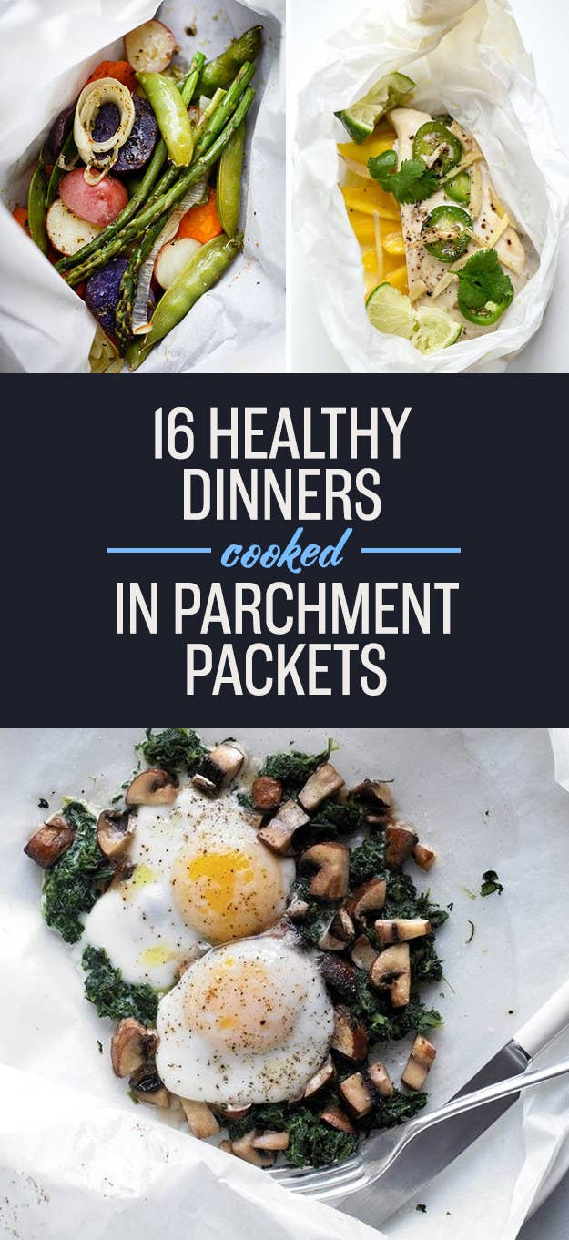 16 Parchment-Wrapped Dinners For People Who Hate Dishes