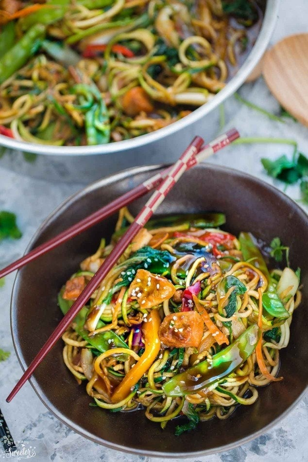 Get this better-for-you zoodle recipe at Life Made Sweeter.