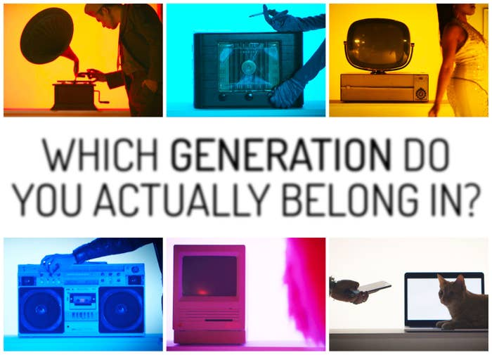 Which Living Generation Do You Actually Belong In?