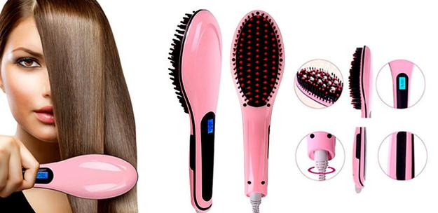 Te urge el cepillo 2x1 que alacia tu cabello mientras lo desenreda ($400).