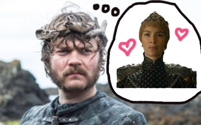 Quando fomos apresentados a Euron, ele revelou seu plano de se juntar a Daenerys e tomar o Trono de Ferro. Mas Yara e Theon encontraram Dany antes, o que automaticamente fez com que Dany e Euron virassem inimigos. Dany e Cersei também são inimigas, por isso, naturalmente, o próximo passo de Euron poderia ser uma aliança com a mulher que já está ocupando o trono — e em 'Game of Thrones', as alianças geralmente são consolidadas com casamentos.