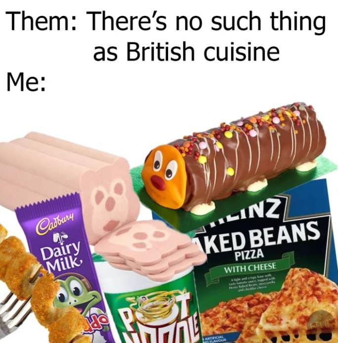 Image result for british food meme
