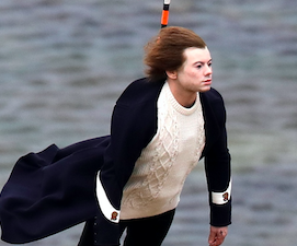 Harry Styles' body double: A humorous image