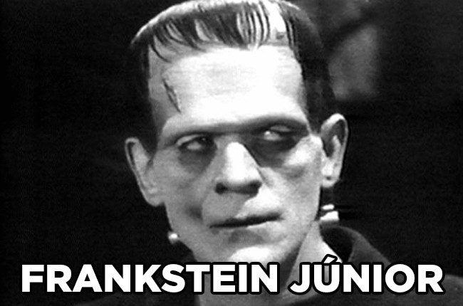 Será que o pai dele chamava Frankstein também?