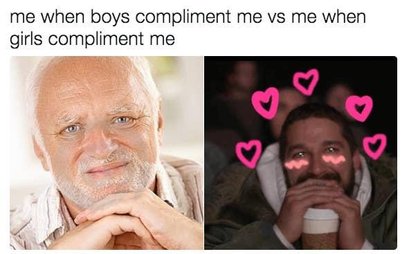 Dating a feminist meme