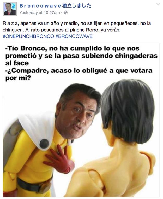 Broncowave es una de nuestras páginas más queridas en Facebook.