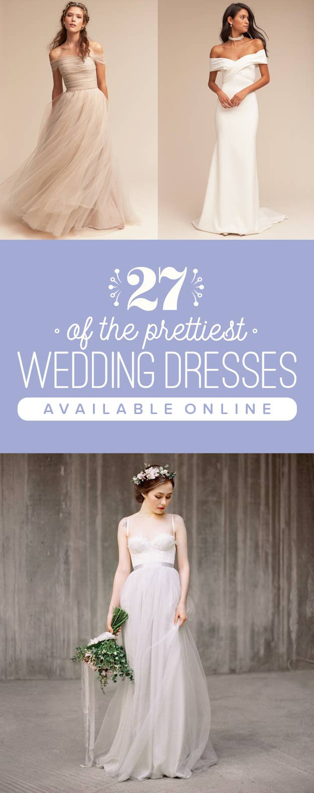 27 Completely Gorgeous Wedding Dresses You Can Order Online
