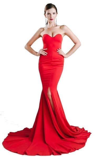 22 A Strapless Number For Anyone Who Doesn T Mind Being The Center Of Attention
