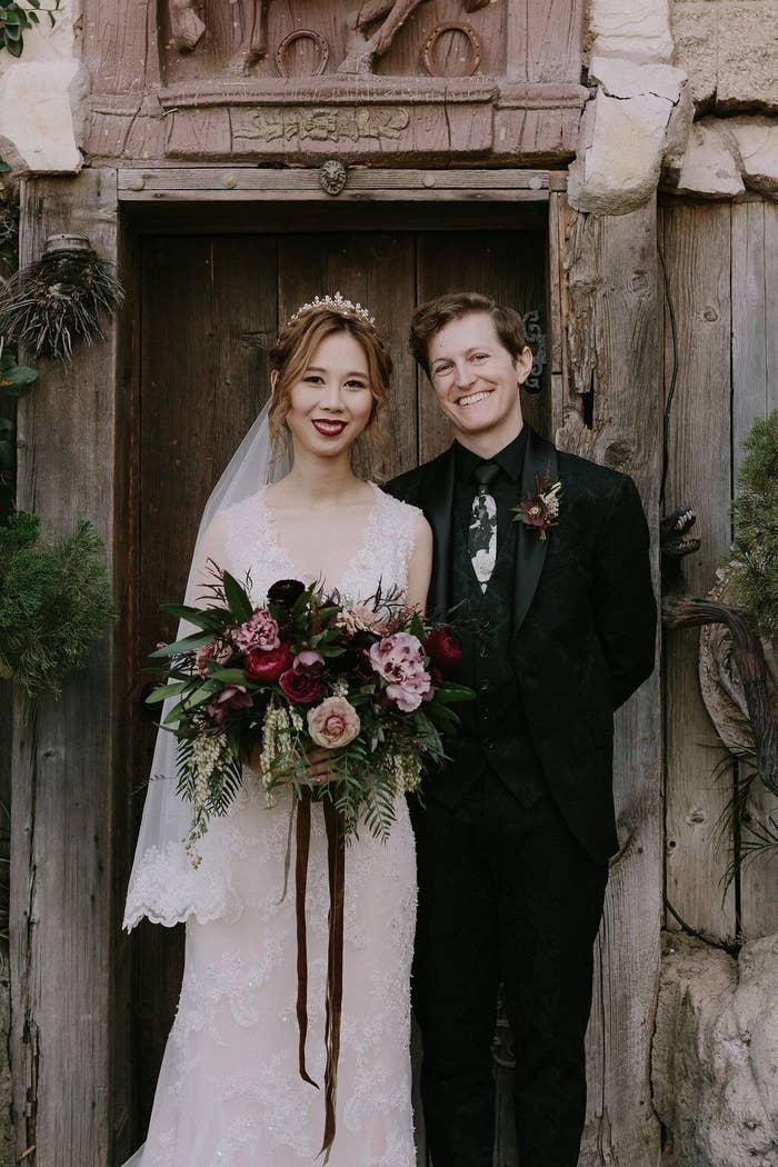 This Might Be The Prettiest Harry Potter Themed Wedding Youll Ever See