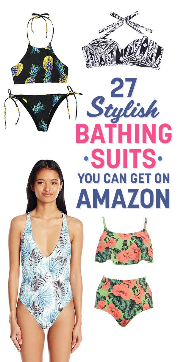 6e5007a9d 27 Stylish Bathing Suits You Can Get On Amazon