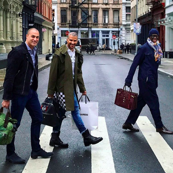 Yesterday, J Alexander aka Miss J aka the show's legendary runway coach, posted a photo featuring Nigel Barker, a former judge, and Jay Manuel, the show's former creative director.