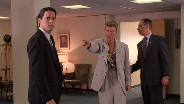 David Bowie was supposed to reprise his role from the prequel film Fire Walk With Me in the upcoming Showtime reboot.