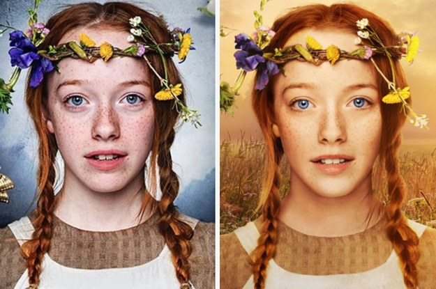 Netflix Photoshopped Anne Of Green Gables And People Are Upset