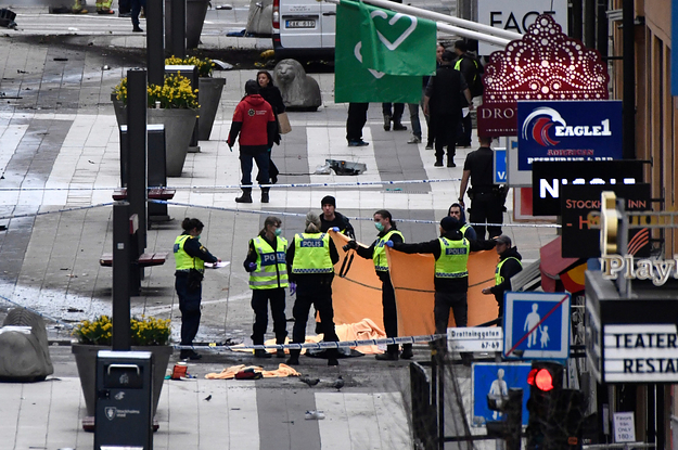 At Least Four People Have Died After A Truck Attack In Sweden's Capital