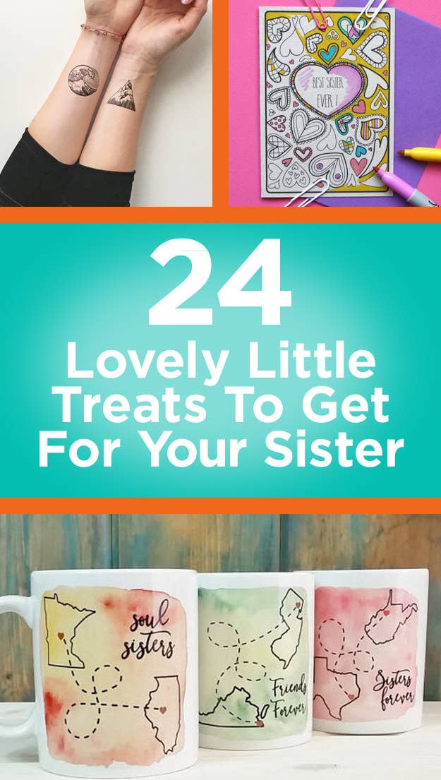 24 Little Surprise Presents To Get For Your Sister