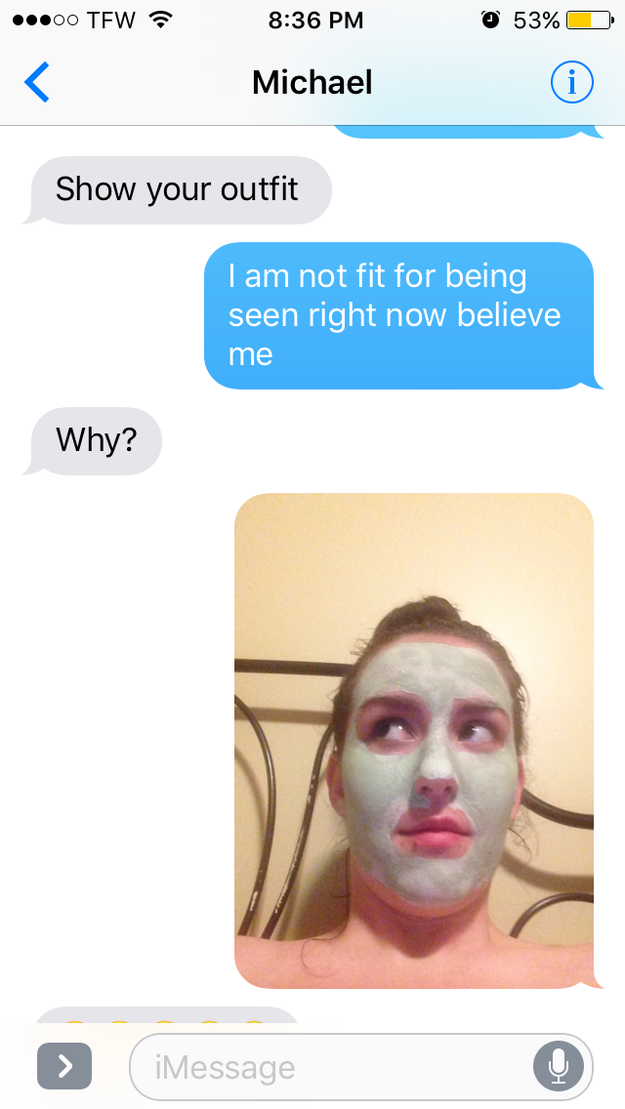 Jacquie Ross is a 16-year-old from North Carolina, and last week she was asked by her friend Michael to text a picture of her outfit.