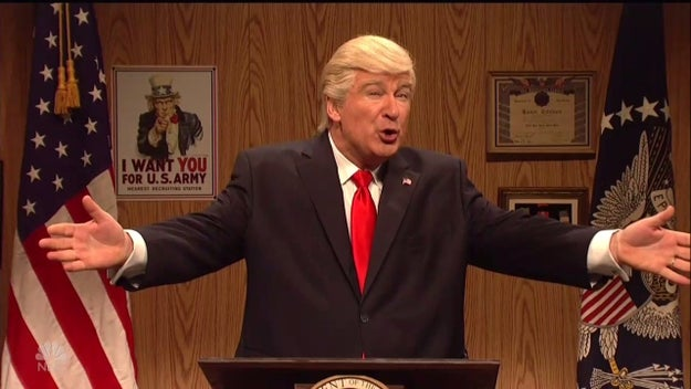 Alec Baldwin came back to Saturday Night Live as Donald Trump to visit a group of hardcore, never-give-up Trump supporters in Boone County.