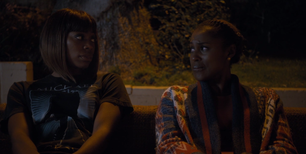 In case you forgot (but like, how could you?) Season 1 ended with Lawrence moving out of his and Issa's apartment (and *ahem* stopping by Tasha's) after he left Issa for cheating on him.
