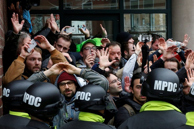 Mass Arrests On Inauguration Day Swept Up Journalists And Legal Observers — And Their Phones