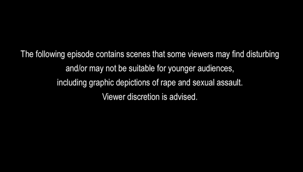 "The series is rated TV-MA for mature audiences, and the episodes that explicitly depict rape and suicide — Episodes 9 (""Tape 7, Side A"") and 13 (""Tape 5, Side A"") — include warnings before they begin streaming."